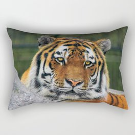 Amur tiger portrait Rectangular Pillow