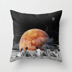 Venus Beach Throw Pillow