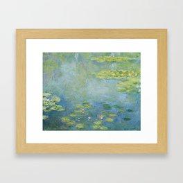 Water lilies by Claude Monet, 1906 Framed Art Print