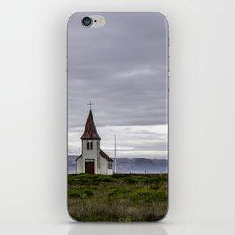 Icelandic Church iPhone Skin