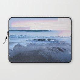 San Simeon Sunrise Pixel Sort Laptop Sleeve