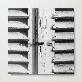 Old shutters Metal Print