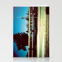 train Stationery Cards featuring Train by Ibbanez