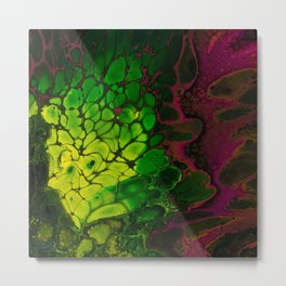 Toxic Flower Metal Print