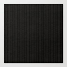 Antiallergenic Hand Knitted Black Wool Pattern - Mix & Match with Simplicty of life Canvas Print