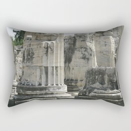 Fluted Ionic Columns - Temple of Apollo, Turkey Rectangular Pillow