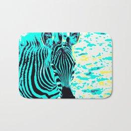 Pop Art Zebra 1 Bath Mat
