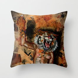 Free The Nipple! Throw Pillow