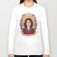 heymonster Long Sleeve T-shirts featuring Liz Lemon by heymonster
