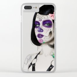 'Defy' Clear iPhone Case