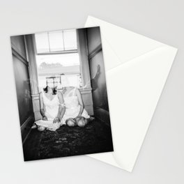 The Twins - Ghostly Holga Double Exposure Stationery Cards