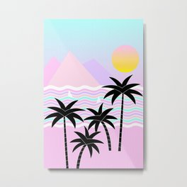Hello Islands - Sunny Shores Metal Print