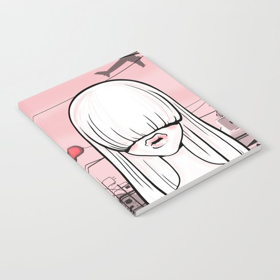 invisible girl Notebook