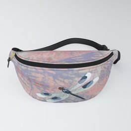 Summer Dragonfly Fanny Pack