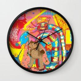 serpiente de dos cabezas Wall Clock