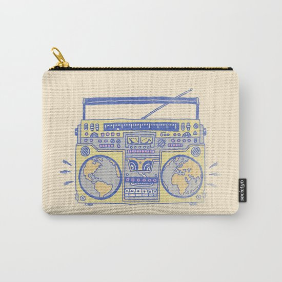 Make The World Dance Carry-All Pouch