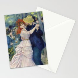 Pierre-Auguste Renoir - Dance at Bougival Stationery Cards