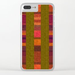 """Colorful Autumn Field"" Clear iPhone Case"