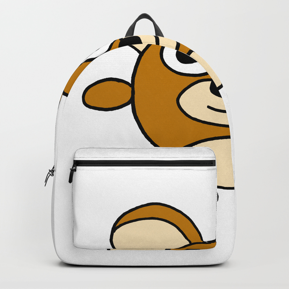 Drawn By Hand A Happy Lovely Bear For Children And… Backpack by Studio-lotte BKP8847426