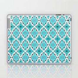 Turquoise Moroccan tile Laptop & iPad Skin