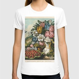 Landscape, Fruit and Flowers T-shirt