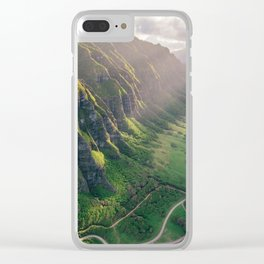Jurassic Park Rays Clear iPhone Case