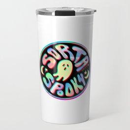 Holo Sorta Spooky © Travel Mug