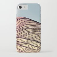 dune iPhone & iPod Cases featuring Sand Dune by Brontosaurus