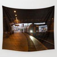 train Wall Tapestries featuring Train by RMK Creative