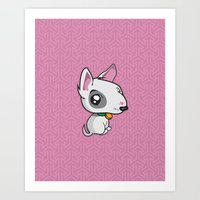 puppy Art Prints featuring Puppy by Eye Opening Design