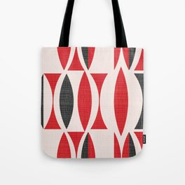 Seventies in Cherry Red Tote Bag