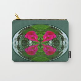Flower Globe Carry-All Pouch