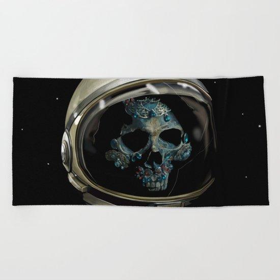 Holy Starman Skull II Beach Towel