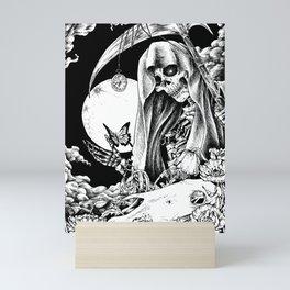 GOD OF DEATH Mini Art Print