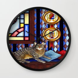 """Beloved Cat II"" Wall Clock"
