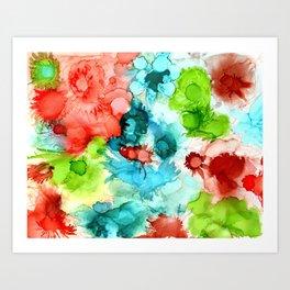 Wild Flowers by Studio 1153 Art Print