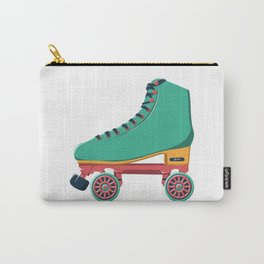 old school roller skate Carry-All Pouch