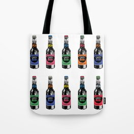 Bottle pop art Tote Bag