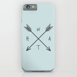 WHAT Compass? iPhone Case