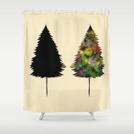 Shape II Shower Curtain
