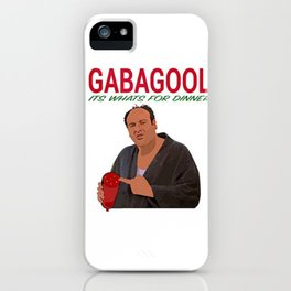 Gabagool iPhone Case