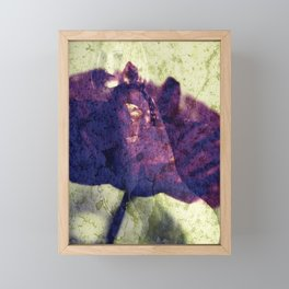 Nude Art Picture - Trapped in the poppy Framed Mini Art Print