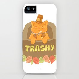 Cup-hat Kitty iPhone Case