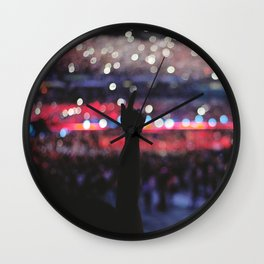 Concert in San Siro Wall Clock
