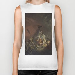 Aeneas and the Sibyl Biker Tank