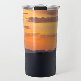 Mountain Sunset III (Big Bear Lake, California) Travel Mug