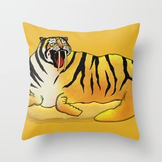 Tigerus Throw Pillow