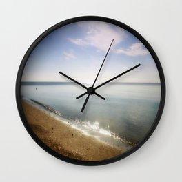 Ocean Glitter Wall Clock