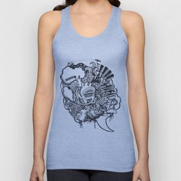 Heart Beat Unisex Tank Top