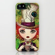 Lady Hatter iPhone (5, 5s) Slim Case